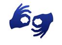 Język migowy - ikonka