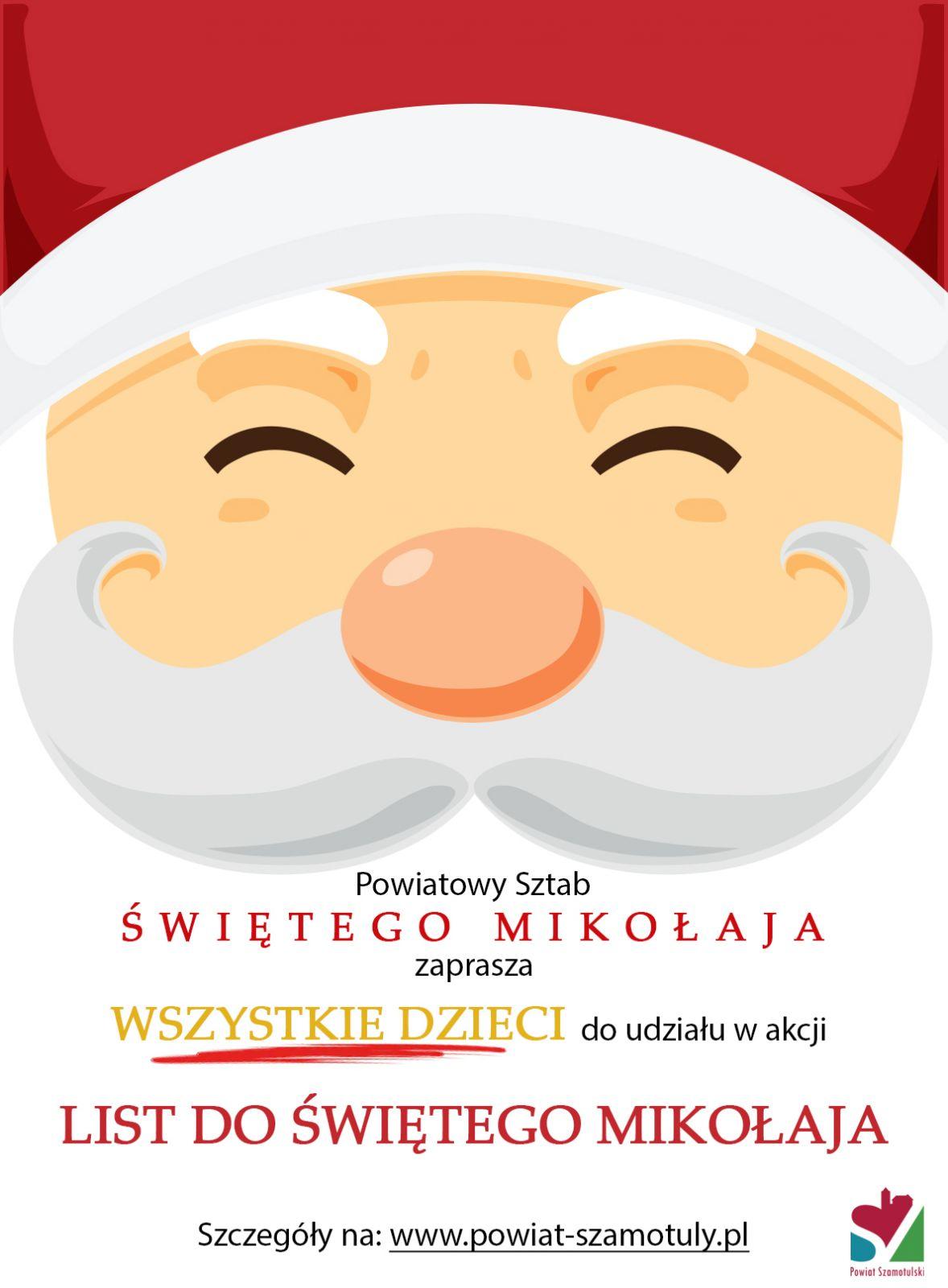 Listy do Świętego Mikołaja - plakat