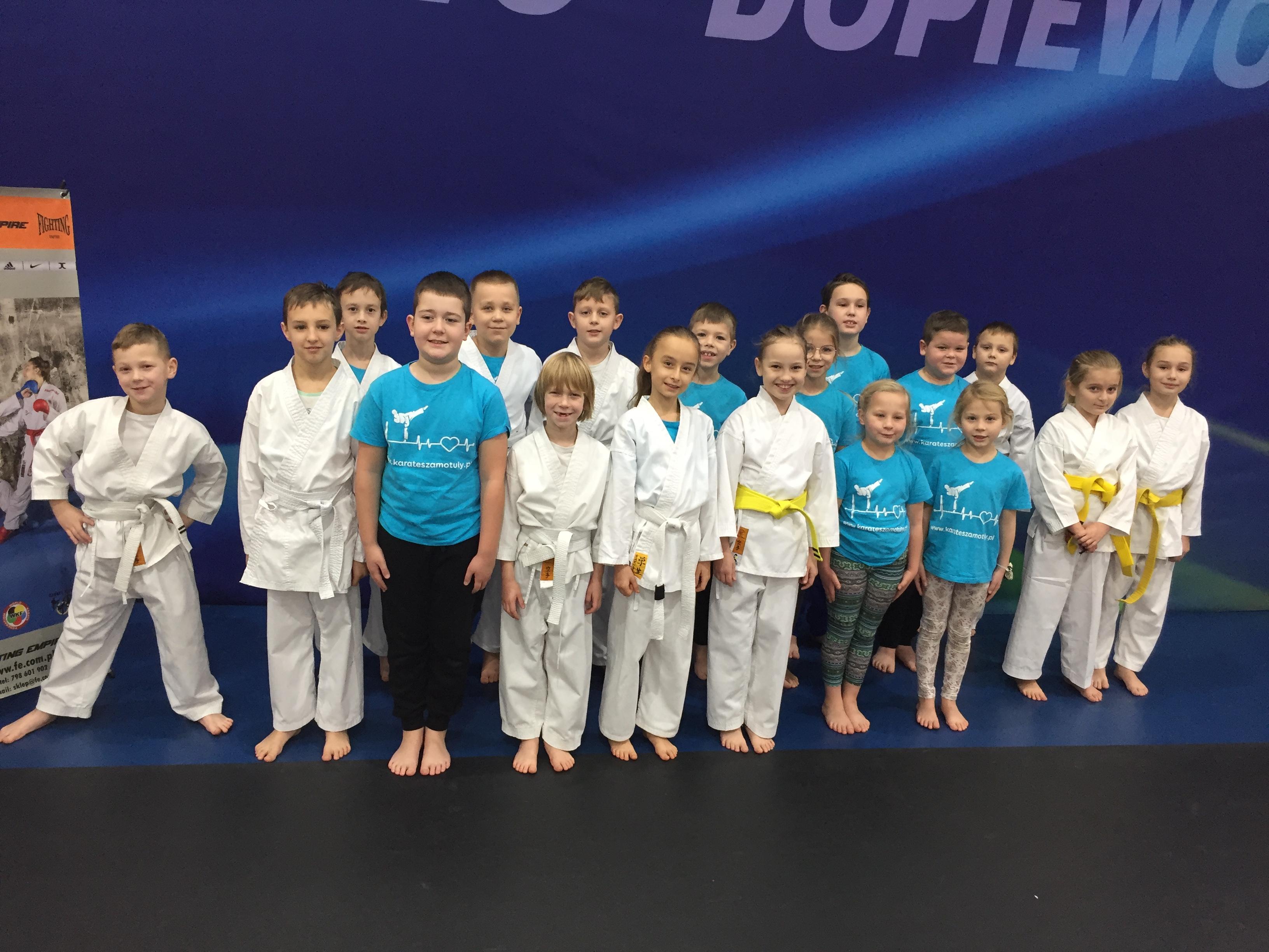 Turniej Karate w Dopiewie