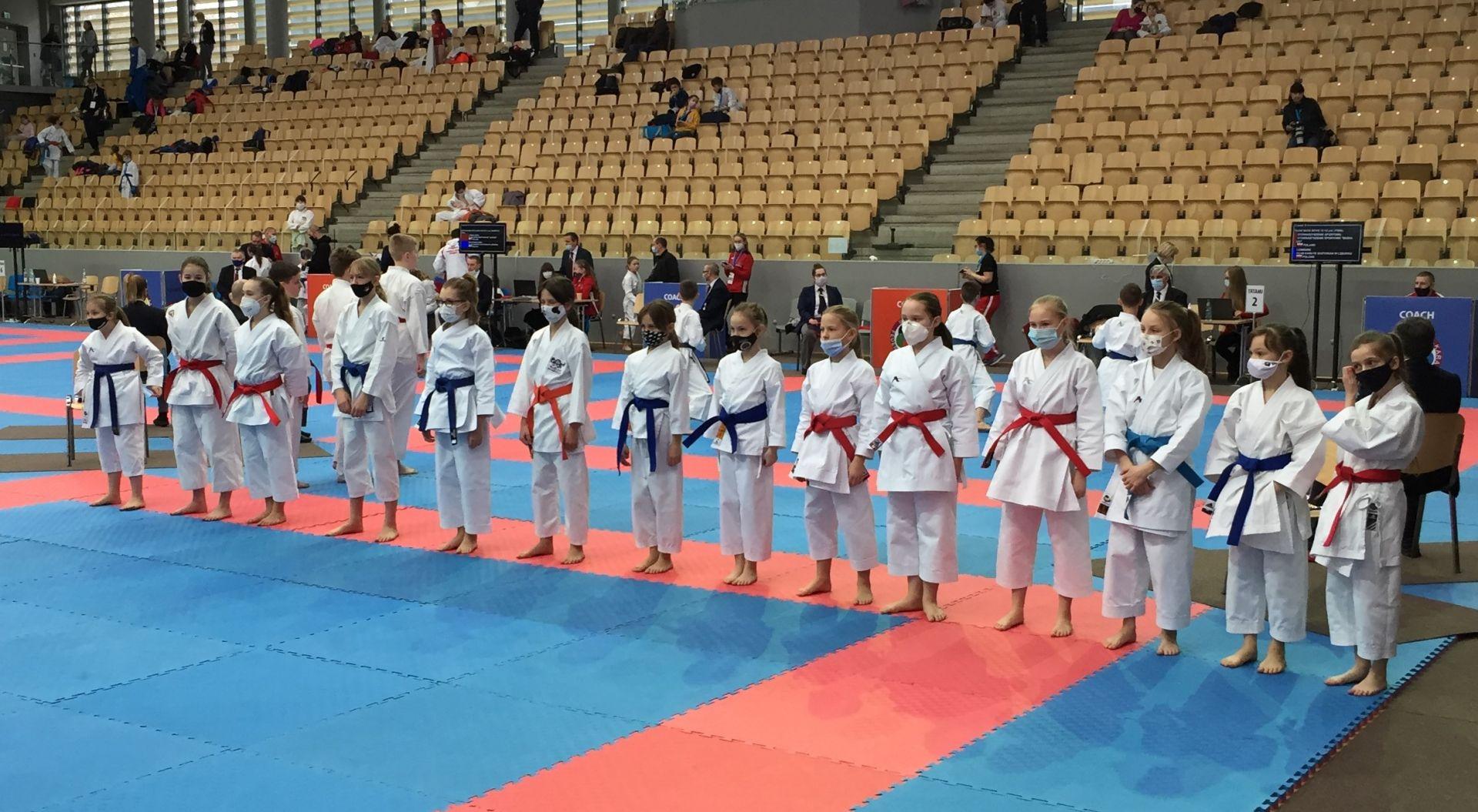 Zawody Karate 1