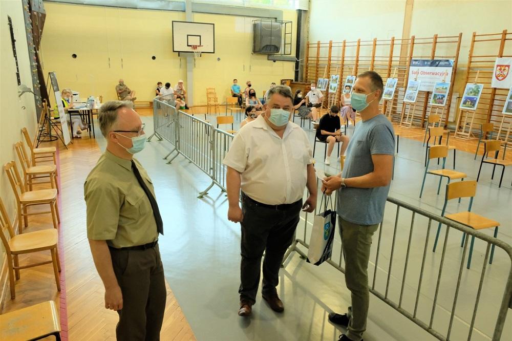 5000 wizyta w Punkcie Szczepień w Pniewach