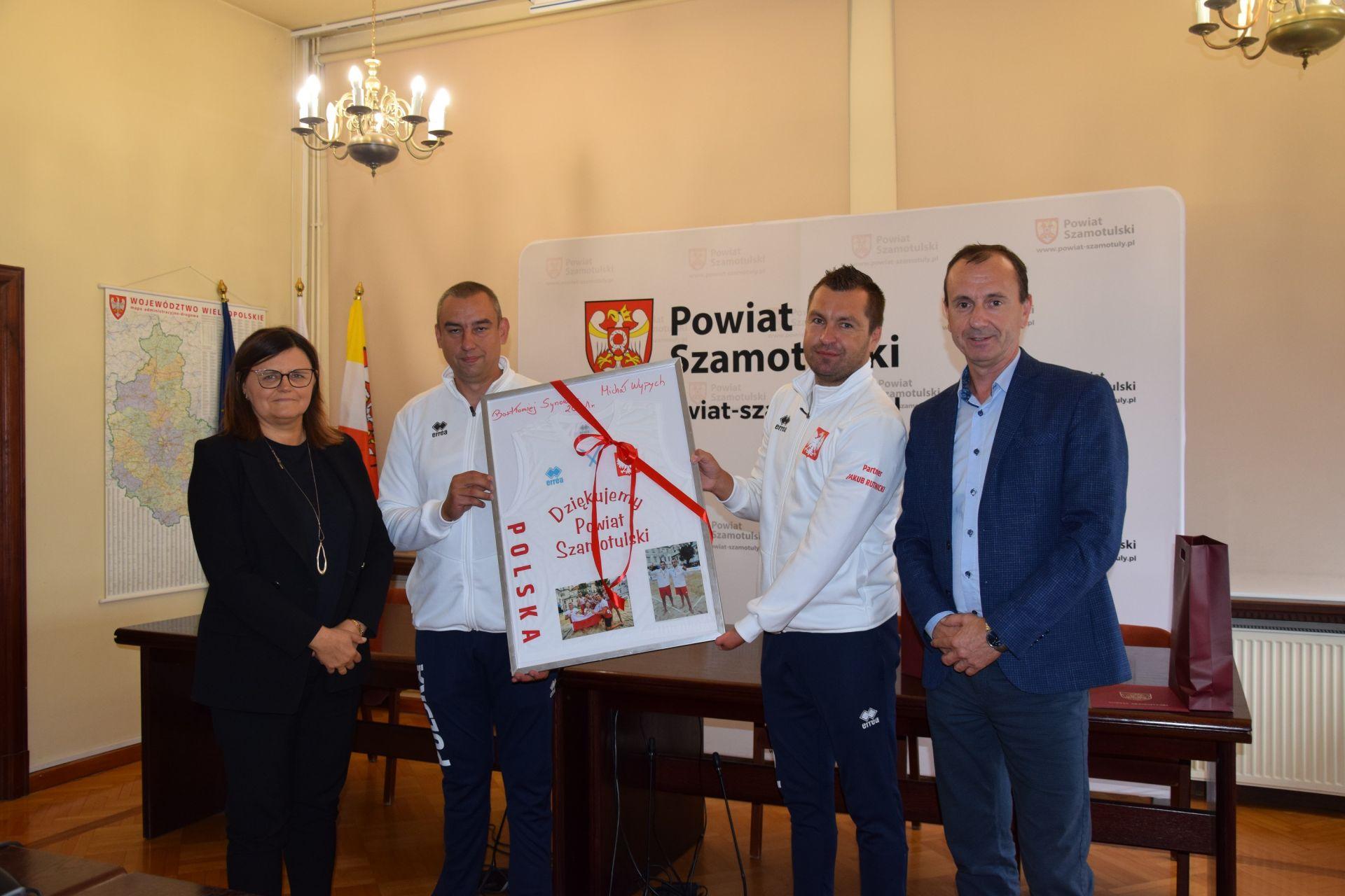 Wizyta Złotych Medalistów Międzynarodowych Zawodów Para Volley Europe
