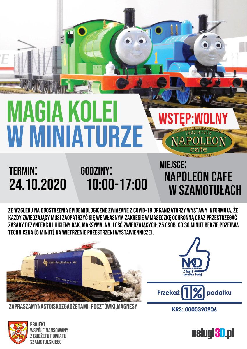 Magia kolei w miniaturze - wystawa